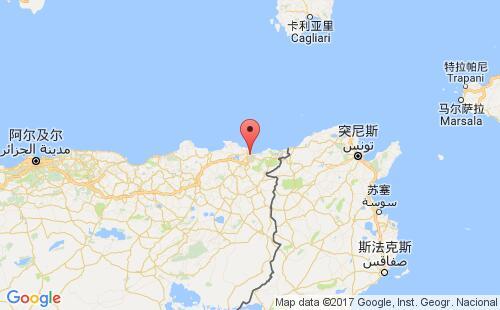 阿尔及利亚港口地图图片