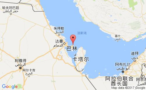巴林港口地图图片