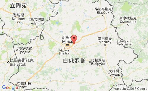 白俄罗斯港口地图图片