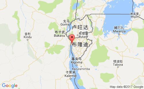 布隆迪港口地图图片