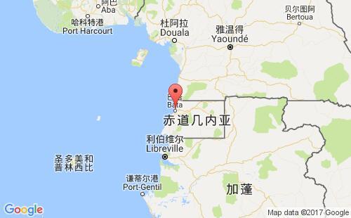 赤道几内亚港口地图图片