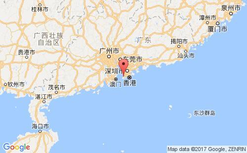 香港(中国)港口地图图片