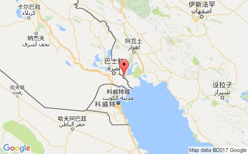 伊朗港口地图图片