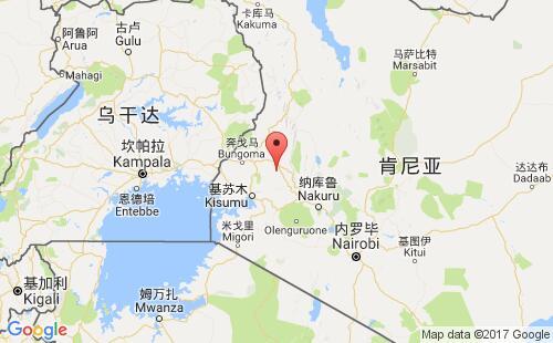 肯尼亚港口地图图片