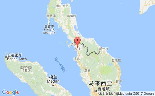 马来西亚港口地图图片