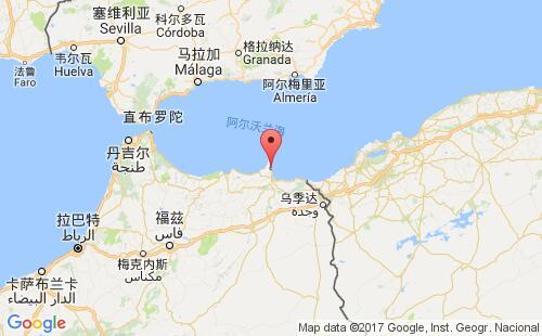 梅利利亚港口地图图片