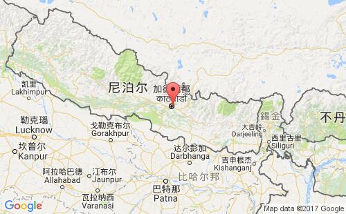 尼泊尔港口地图图片