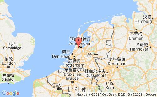 荷兰港口地图图片