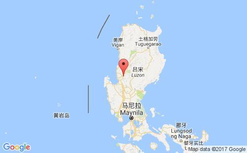 菲律宾港口地图图片