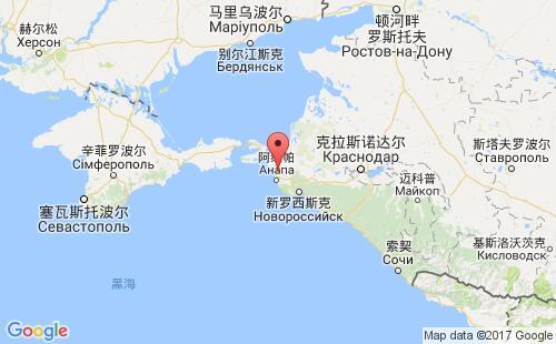 俄罗斯港口地图图片
