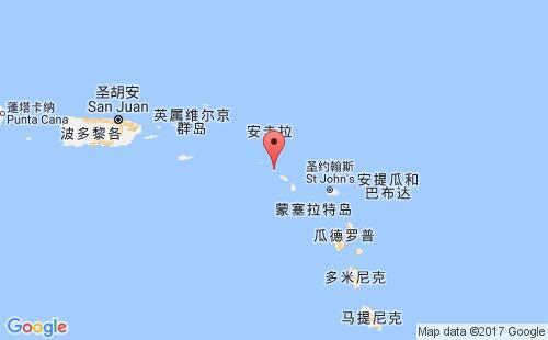 圣尤斯特歇斯岛港口地图图片