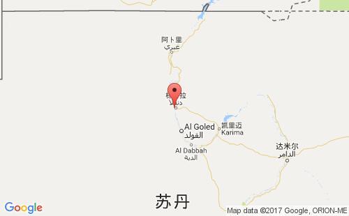 苏丹港口地图图片