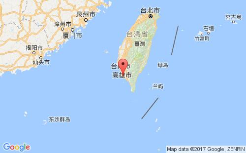 台湾(中国)港口地图图片
