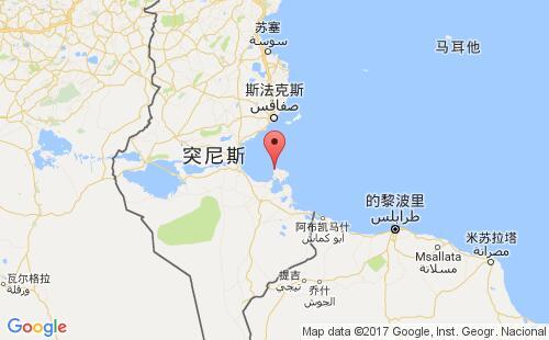 突尼斯港口地图图片
