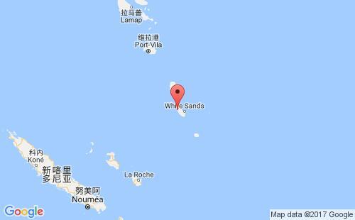 瓦努阿图港口地图图片