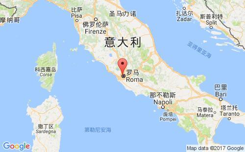 梵蒂冈港口地图图片