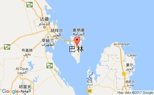 巴林港口巴林bahrain港口地图