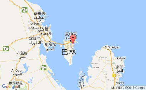 巴林港口锡特拉sitra港口地图