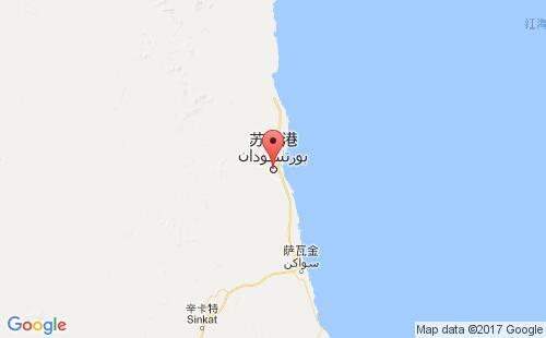 苏丹港口苏丹港port sudan港口地图