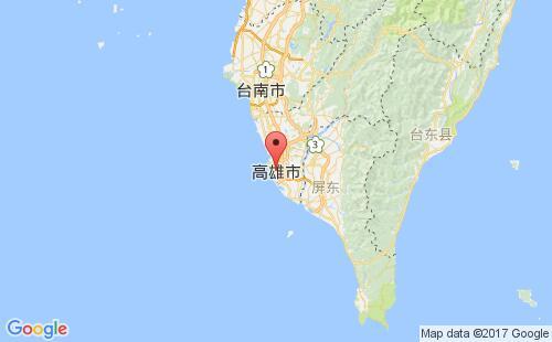 台湾(中国)港口高雄kaohsiung港口地图